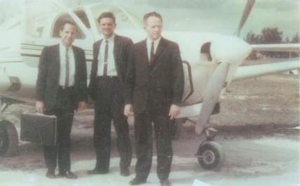 Sam Fife and Plane