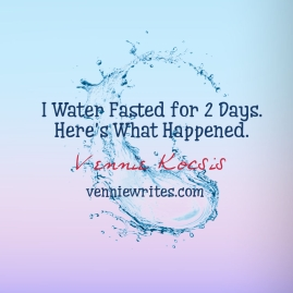 Water Fast