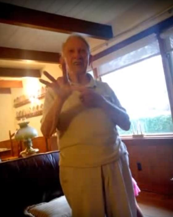 Buddy Cobb Hand Signal